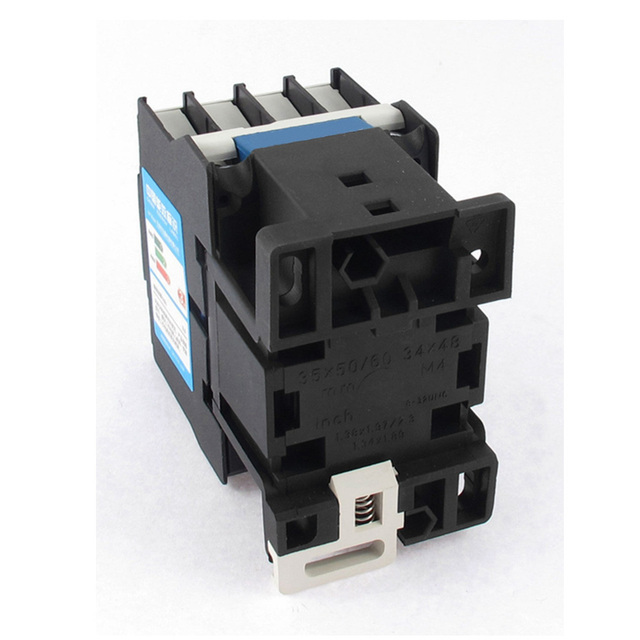AC Motor Magnetic Contactor 3 phase 3P 3 Pole 1NC 18A 24VAC 36V 220V 380V Coil Volt CJX2 Contacts Relay 35mm Din Rail