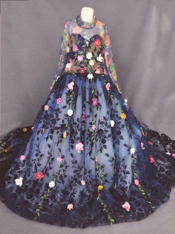 Elegancka suknia ślubna na zamówienie sukienki dla dziewczynek w - Odzież dla niemowląt - Zdjęcie 3