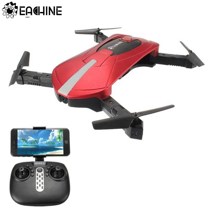 Alta calidad Eachine E52 WiFi FPV Drone Selfie con modo alto brazo plegable RC Quadcopter RTF para niños regalo