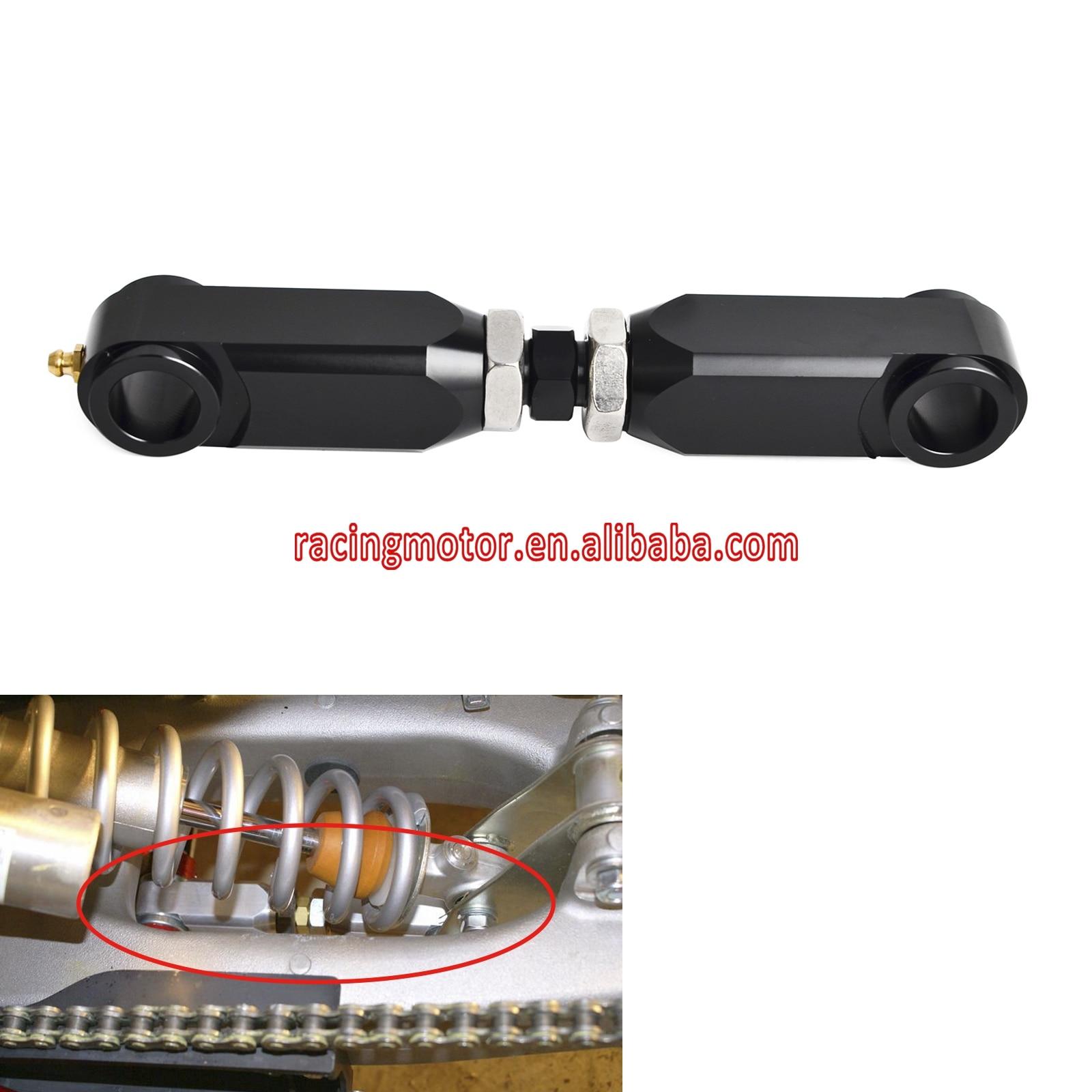 Adjustable Rear Lowering Kit Arm Relay Connecting Rod For Yamaha Raptor 350 660 600R 700 YFM350 04-13 YFM660R 01-05 YFM700 06-17 for yamaha rear brake caliper assembly banshee warrior blaster raptor 350 yfm350
