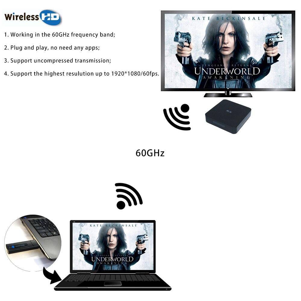 Measy W2H sans fil WiFi affichage Dongle récepteur 1080 P HDMI TV Stick DLNA Airplay Miracast pour PC SmartPhones à HDTV moniteur