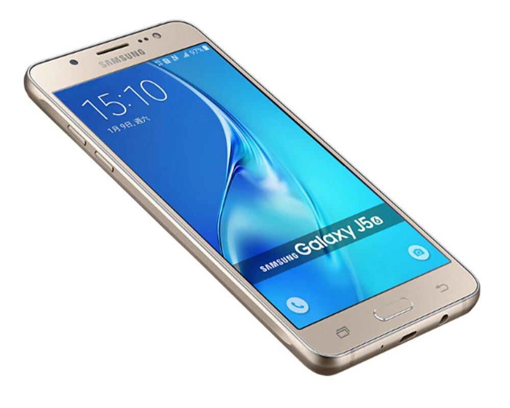 samsung Галактика J5 5.2 дюймов 2 гб оперативная память 16 гб встроенная память четырехъядерный процессор Snapdragon 410 3100 мач двойной simfdd лте смартфон