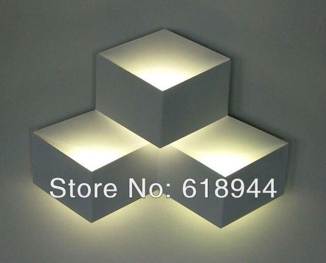 Italiaanse designer originele witte kubus driedimensionale diamant