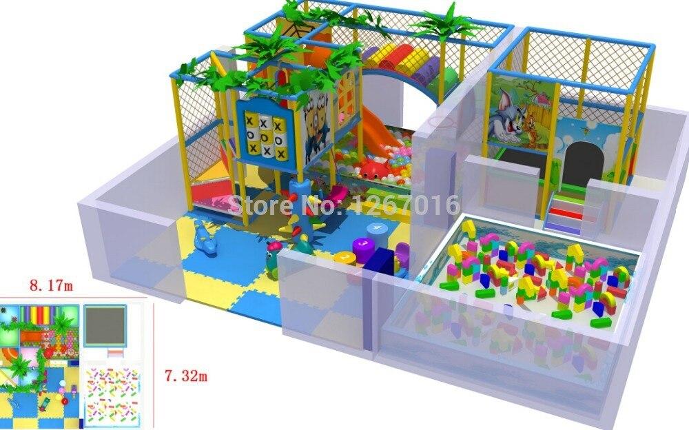 2014 équipement de jeux d'intérieur Golden Factory/jouet de plaisir intérieur/jeux combinés d'intérieur Service à guichet unique de qualité supérieure
