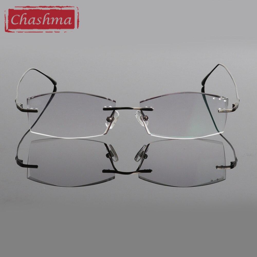 Chashma Brand Pure Titanium Ultra Light Tint Glass Hombres con estilo - Accesorios para la ropa - foto 4