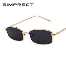 Simprect 2021 маленькие квадратные солнцезащитные очки для женщин