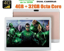Nueva BMXC Android 6.0 Tablet 10 pulgadas Octa Core 4G LTE Teléfono Tableta de la llamada 4 GB 64 GB Dual SIM 8.0MP Wifi Bluetooth 4G LTE GPS tabletas