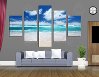 Blue Sky And Beautiful Scenery By Printed Giclee Canvas Modern No Framed Landscape Pictures Wall Art