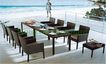 Wicker dining sets furniture manufacturer in China