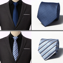 1200 Needles Quality 100% Silk Men Ties Plaid Striped Neck for Classic Wear Business Wedding Party Gravatas 8cm wide