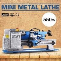 180x300mm 550W Precision Mini Metal Lathe Variable Speed 2250RPM