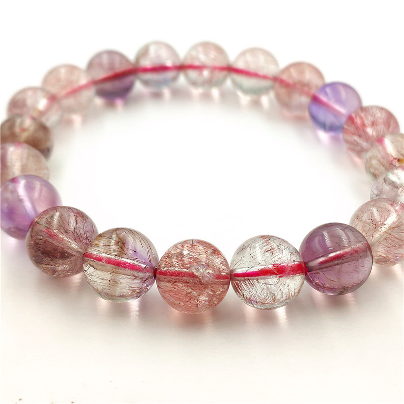 Natural Super 7 Melody Quartz Bracelet (4)