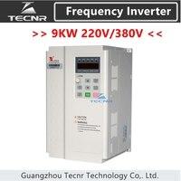 FULING 9KW 220V 380V frequency converter inverter for 9KW cnc spindle motor