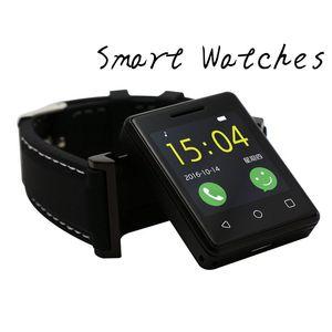 Telefonema Slot Para Cartão SIM Relógio Inteligente Empurre Mensagem Bluetooth Smartwatch para Android IOS Telefone Teste Pedômetro Esporte Relógios Inteligentes