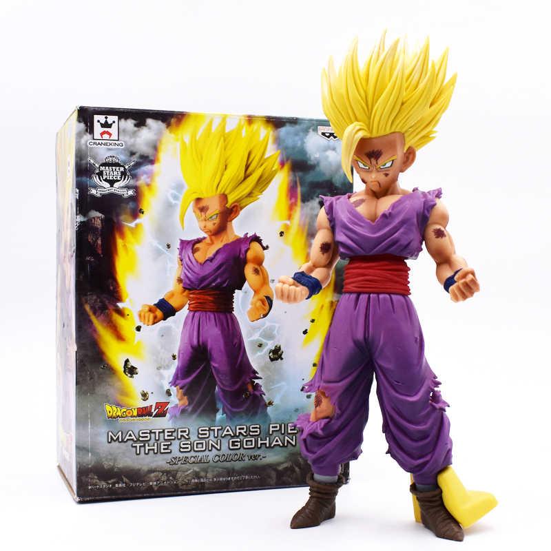 6 estilo 15-23cm dragon ball z pvc figura de ação brinquedos anime super saiyan filho gohan zamasu bardana broli crianças coleção modelo brinquedo