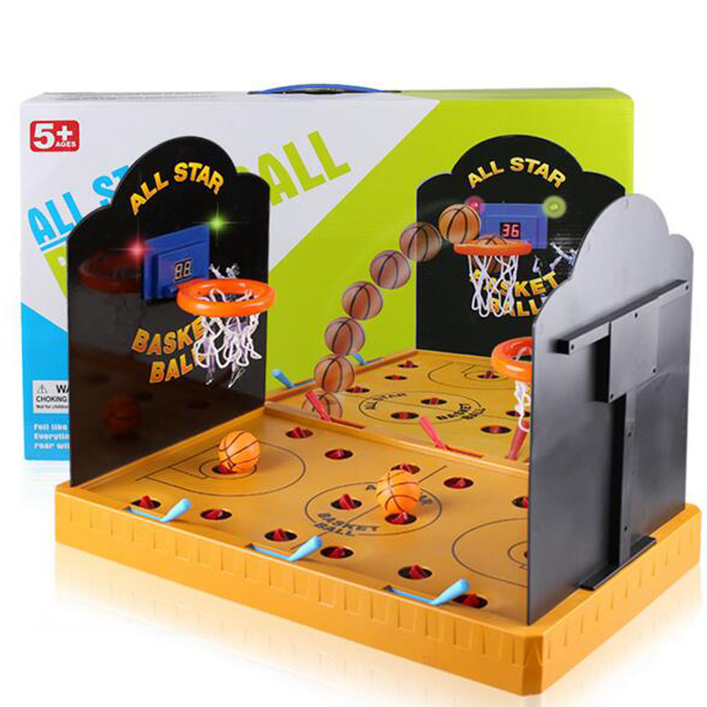 Portable detachable Desktop Miniature Basketball Game Mini Table     Portable detachable Desktop Miniature Basketball Game Mini Table Basketball  Shooting Toy Relax Funny Board Game in Board Games from Sports    Entertainment