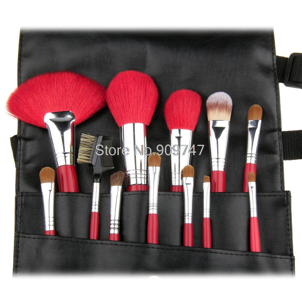 Hot Selling 12Pcs Makeup Brush Kit Cosmetic Brush Set Make up Brushes Tools beauty brush with bag