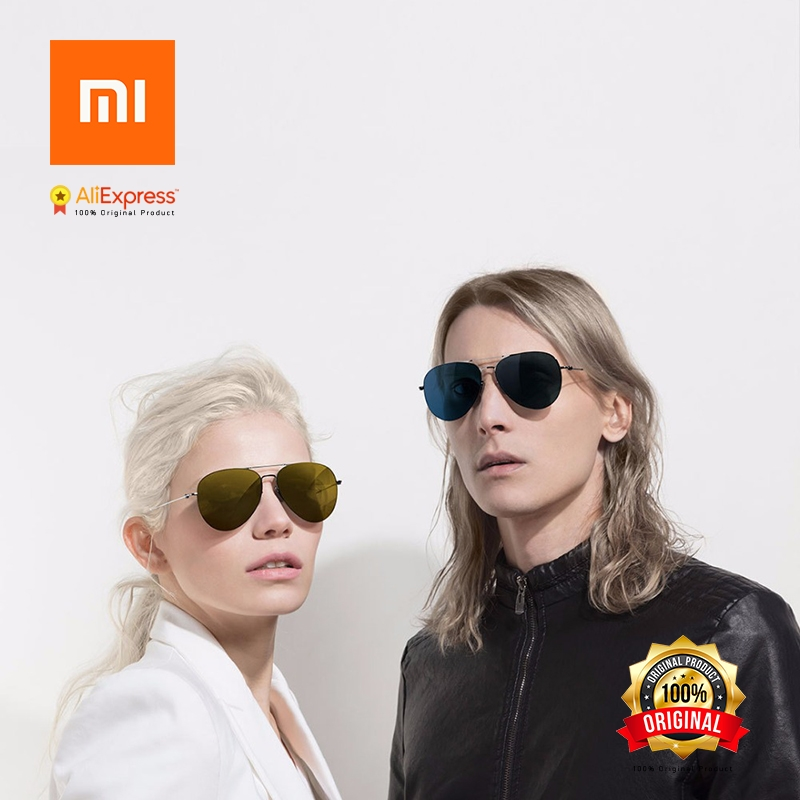 Xiaomi Turok Steinhardt TS Brand Nylon Polarized Stainless Sun Lenses Glasses Colorful RETRO 100% UV-Proof for Travel Man Woman in stock xiaomi turok steinhardt ts brand nylon polarized stainless sun lenses 18g edgeless 100