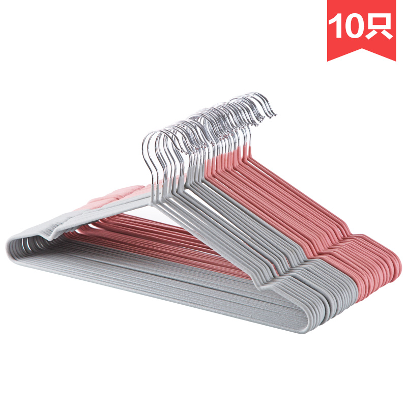 Home Anti-slip Hanger Clothes 10pcs Hold Rack Clothes Hange