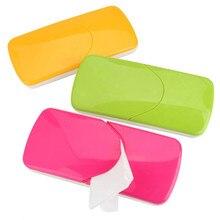 Коробка для влажных салфеток Пластик Автоматический чехол тканевой чехол детские влажные салфетки diapex дизайн автомобильные аксессуары