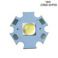 1PCS CREE XHP50 XHP70 6500K Cool White LED Emitter 6V 12V With 16mm 20mm Cooper PCB