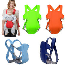 Multifunctional 0-24Months Baby Carriers Breathable Front Facing Infant Comfortable Sling Backpack Pouch Wrap Baby Kangroo Belt(China)