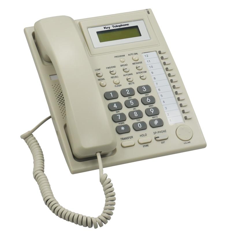 سیستم تلفن / کلید تلفن PH201 برای PABX