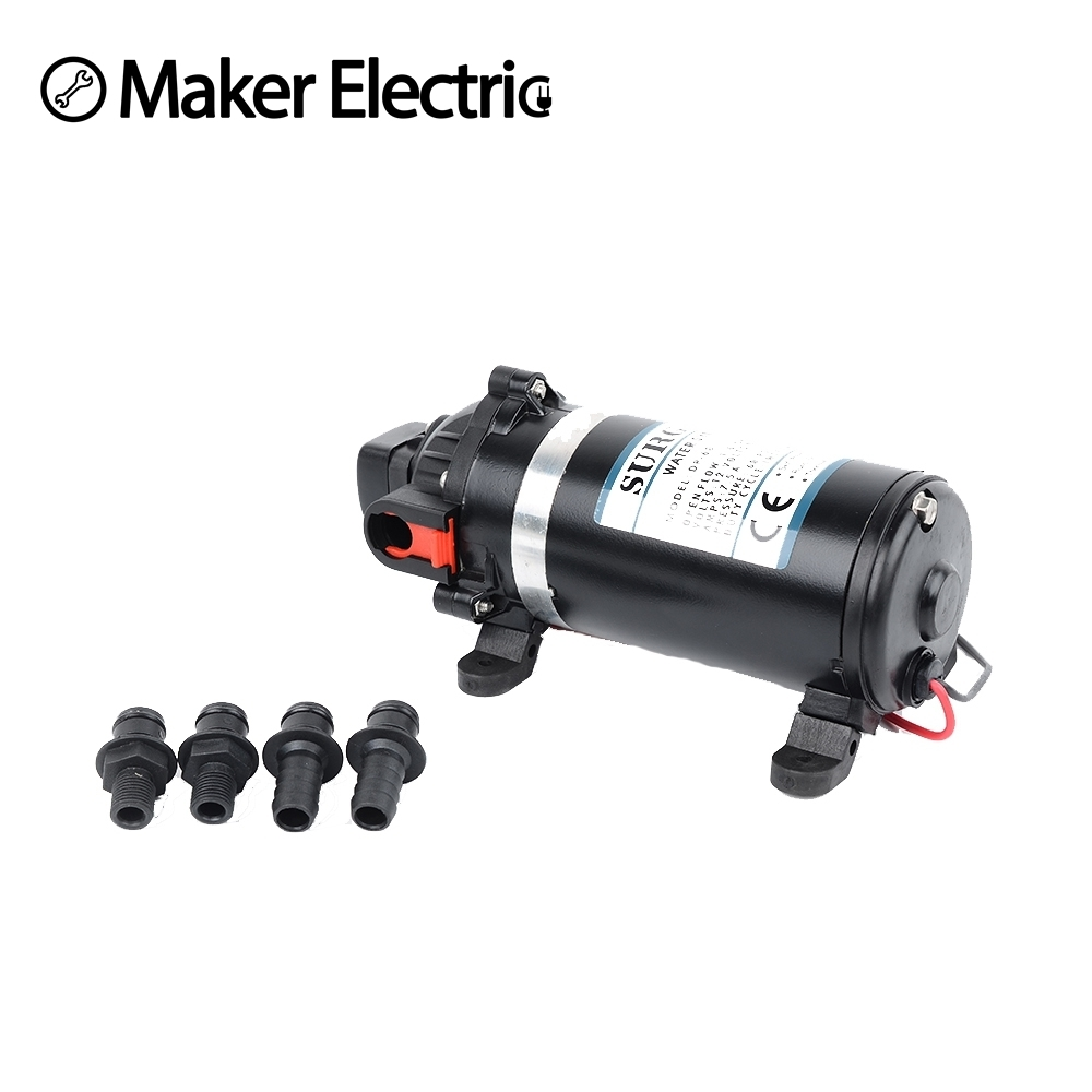 DP-160 DC 12v 160psi High pressure water pump for carpet washing system automatic switch mini water pump dp 60 dc 12v 5l min 4 2 bar high pressure diaphragm vacuum pumps ro system car washing filter