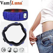 Electric Slimming Belt Vibration Massage Weight Lose Magnet Belt Burning Fat Lose Shake Waist Trainer for Men & Women(China)