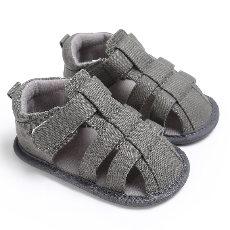 Canvas Jeans New Summer Baby Moccasins Child Summer Boys Fashion Sandals Sneakers Infant Shoes 0-18 Month Baby Sandals
