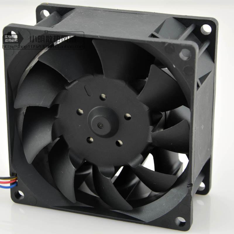 Wholesale For Delta TFB0812UHE -5H2L DC12V 2.34A Server Square inverter axial cooling fans 80x80x38mm