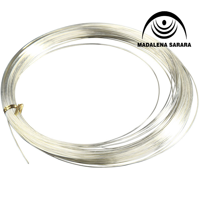 MADALENA SARARA Sterling Silver 925 Wire For DIY Jewelry Making 0.6/0.7/0.8/0.9/1.0mm Optional 100% Quality Guarantee