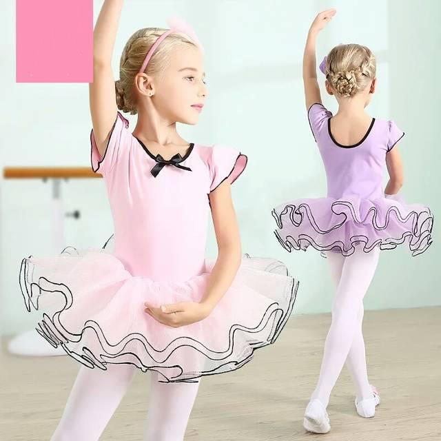 5952494ca Online Shop 2017 new Kids Leotards Gymnastics Ballet Tutu Dancewear ...