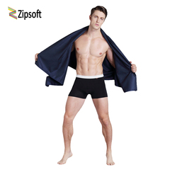 Zipsoft Black Sports towels Quick drying Microfiber fabric Travel Swimming Camping Bath Compressed Towel For men Christmas gift