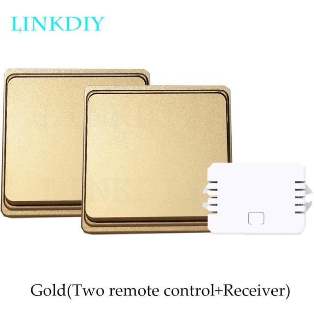 LINKDIY Wireless remote control switch light switch without battery ...