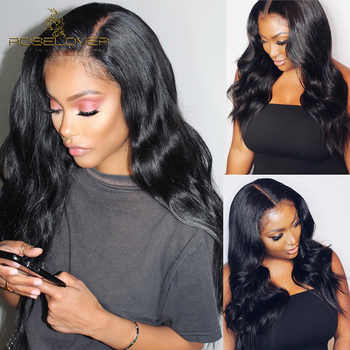 ROSELOVER Brazilian Body Wave 360 Lace Frontal Wig Pre Plucked Lace Front Human Hair Wigs For Black Women With Baby Hair - DISCOUNT ITEM  47% OFF All Category