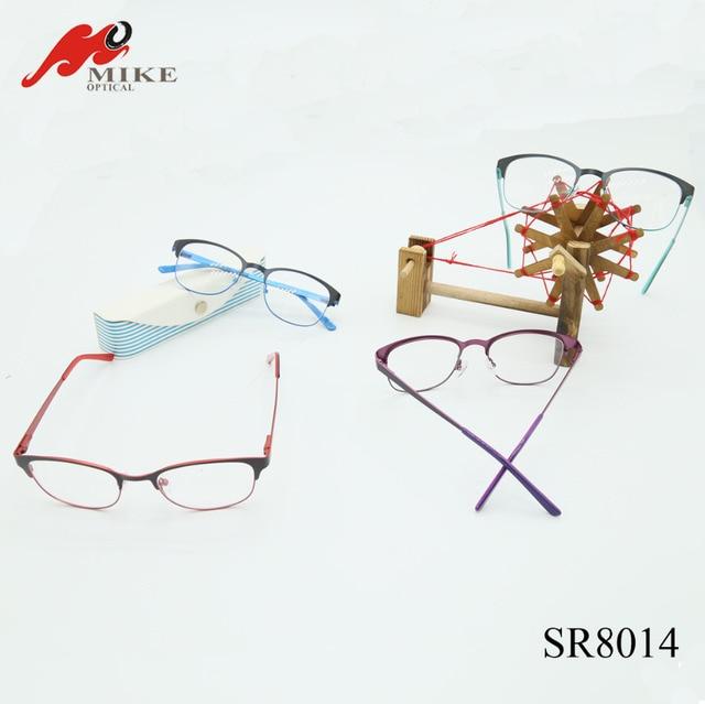 e7c675794d68 Two Color Plating Original Brand Metal Optical Glasses Frames SR8014 Fashion  Design Eyeglasses China Factory Manufacture 2016