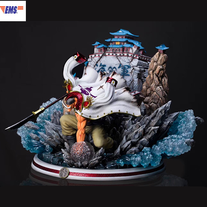 ONE PIECE One Of The Four Emperor White Beard Edward Newgate  Resin Scenes Statue Limited Action Figure Model Toy X687ONE PIECE One Of The Four Emperor White Beard Edward Newgate  Resin Scenes Statue Limited Action Figure Model Toy X687