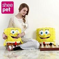 Sheepet Spongebob 60cm Plush Toy Soft Anime Cosplay Doll For Kids Toys Cartoon Figure Cushion Home