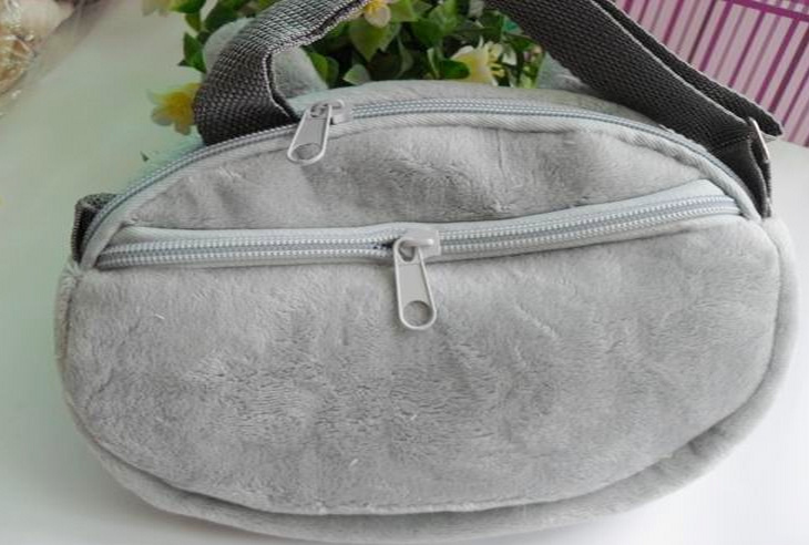 Kawaii-TOTORO-KID-Satchel-BAG-Plush-Children-Kids-Satchel-Messenger-BAG-Plush-Backpack-BAG-Pouch-2216CM-Double-Zippers-2