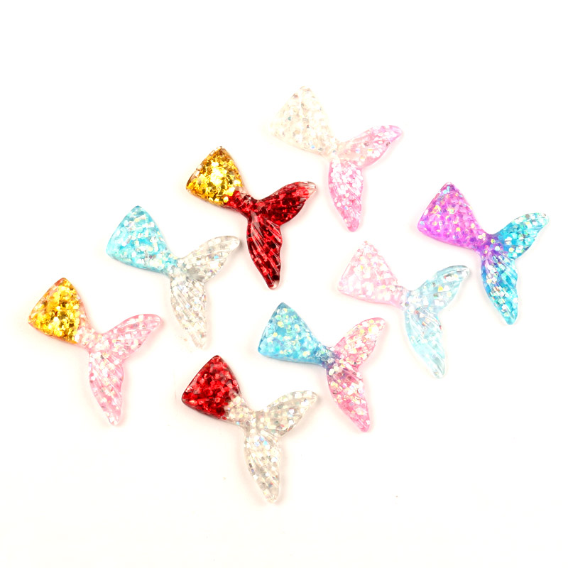 5pcs Butterfly Flatback Acrylic Cabochon Embellishment Scrapbooking Kawaii Craft