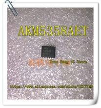 10 pçs/lote AKM5358AET AKM 5358AET TSSOP-16 chip de gerenciamento de Energia IC original novo