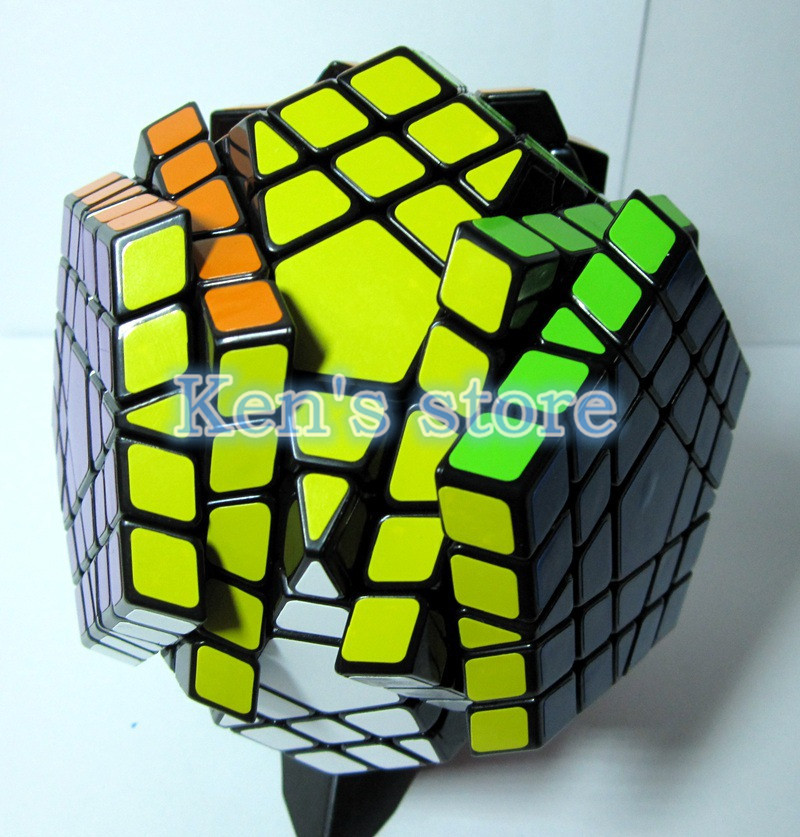 2016 New Shengshou SHS Megaminx Magic Cube Professional 5x5x5 PVC & - ფაზლები - ფოტო 4