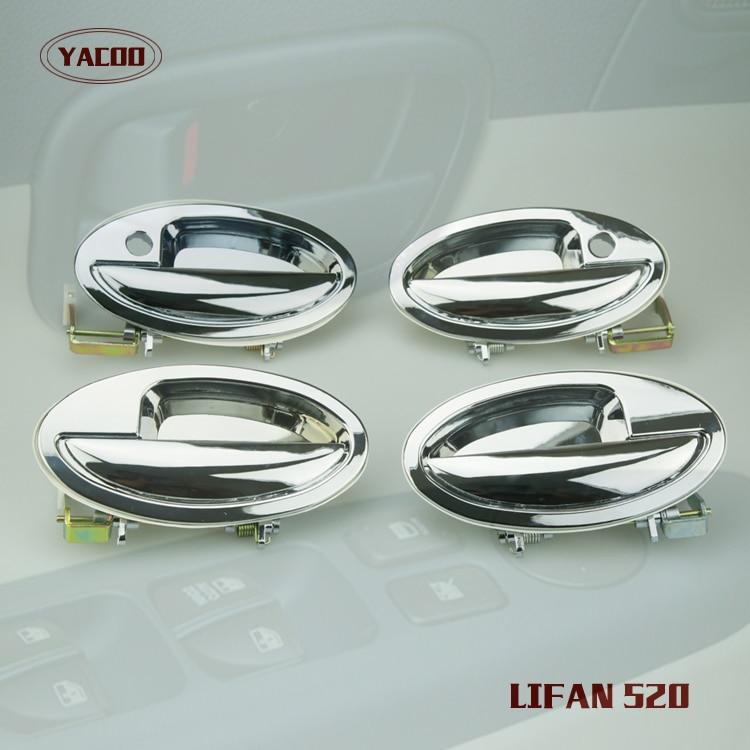 4PCS A CAR SET EXTERIOR DOOR HANDLE FOR LIFAN 520
