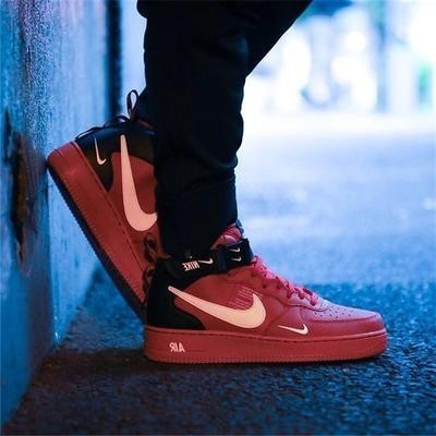 NIKE AIR FORCE 1 New Arrival Women Skateboarding Shoes Outdoor Sneakers 804609 605 in Skateboarding from Sports Entertainment