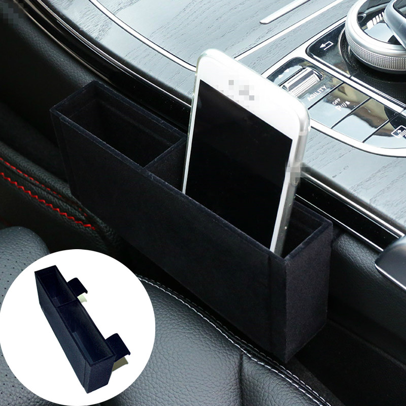 Inner Gear Shift Side Storage Box- ის მფლობელი Mercedes Benz C Class W205 S205 2014-2018