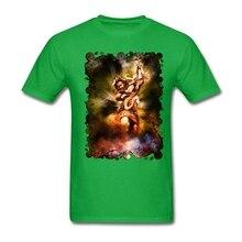 2017 nette Shiva in Aktion Männlich Tees Organischer Baumwolle Runden Kragen Sommer Kurzen Ärmeln T Shirts