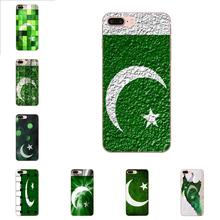 TPU Cell Phone Case Cover Retail Printed Pakistan Flag For Xiaomi Redmi Note 2 3 3S 4 4A 4X 5 5A 6 6A Pro Plus