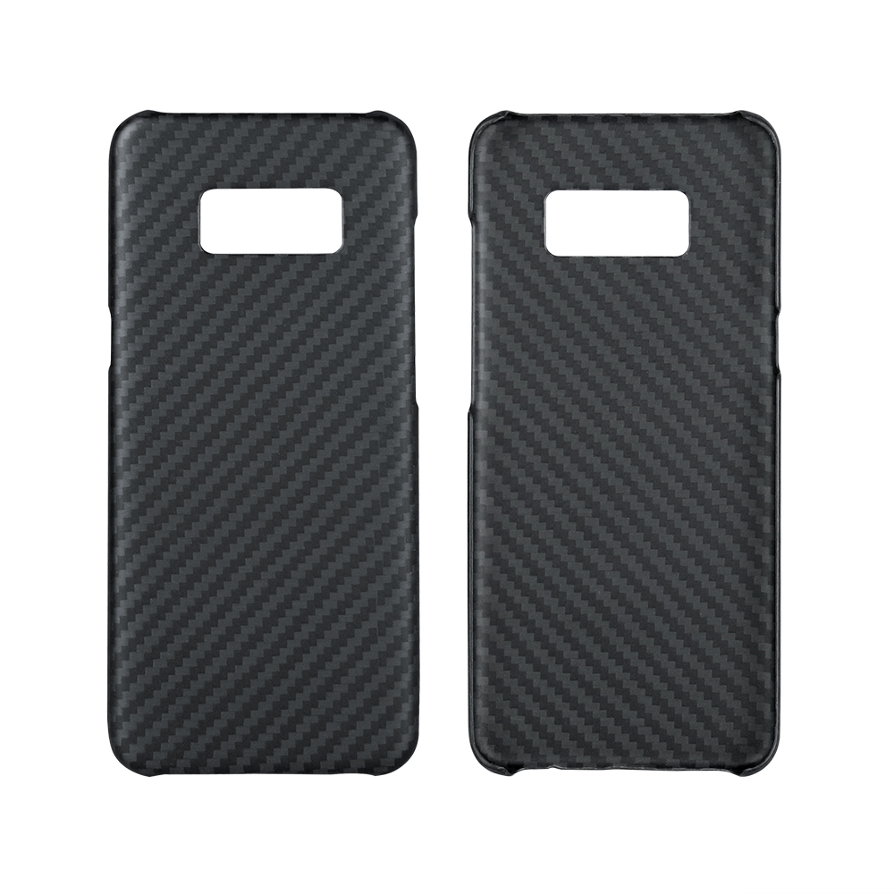 Deluxe Ultra Thin Black for Samsung Galaxy S8 S8 Plus Case Cover Aramid Fiber Case for