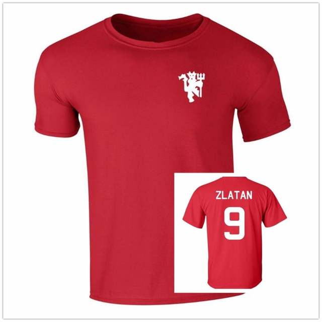 info for db90c 6f5d5 US $14.3 45% OFF|Summer Swedish Star Number And Name Zlatan Ibrahimovic T  Shirt Men Fans Cheer O Neck Cotton Short Sleeve T shirt Punk Brand Tees-in  ...